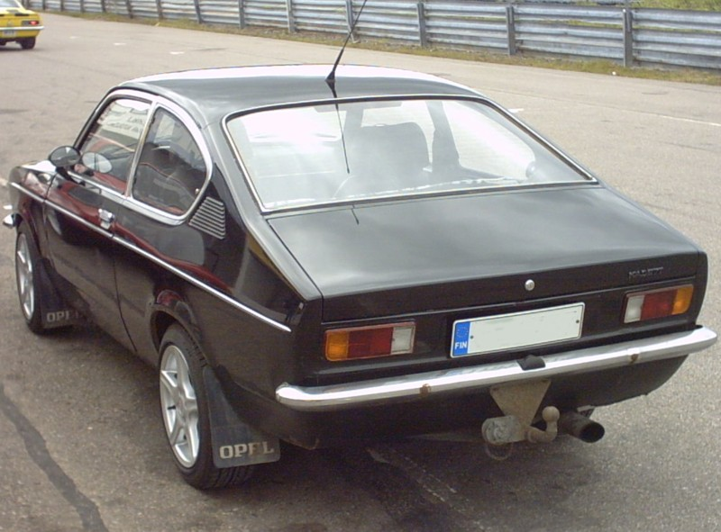 opel kadett coupe. Opel Kadett C - Scratch Made